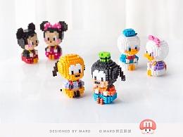 MARD拼豆原创-迪士尼系列