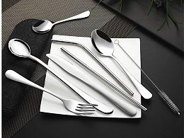 亚马逊主图 · 不锈钢餐具
