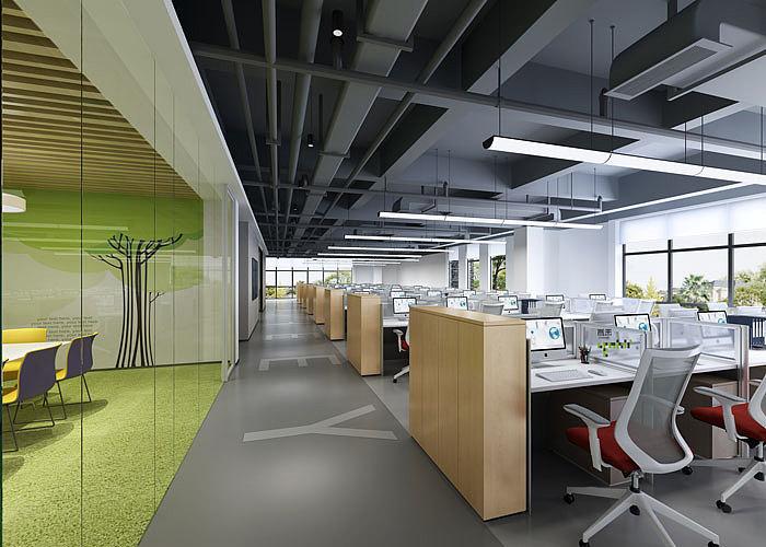 北京集团总公司办公室装修效果图
