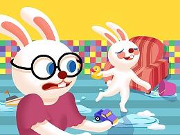 儿童绘本(兔兔的故事)