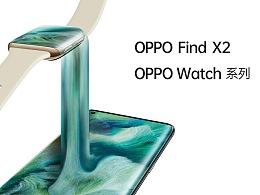 OPPO Find X2 OPPO Watch Window sticker(橱窗贴)