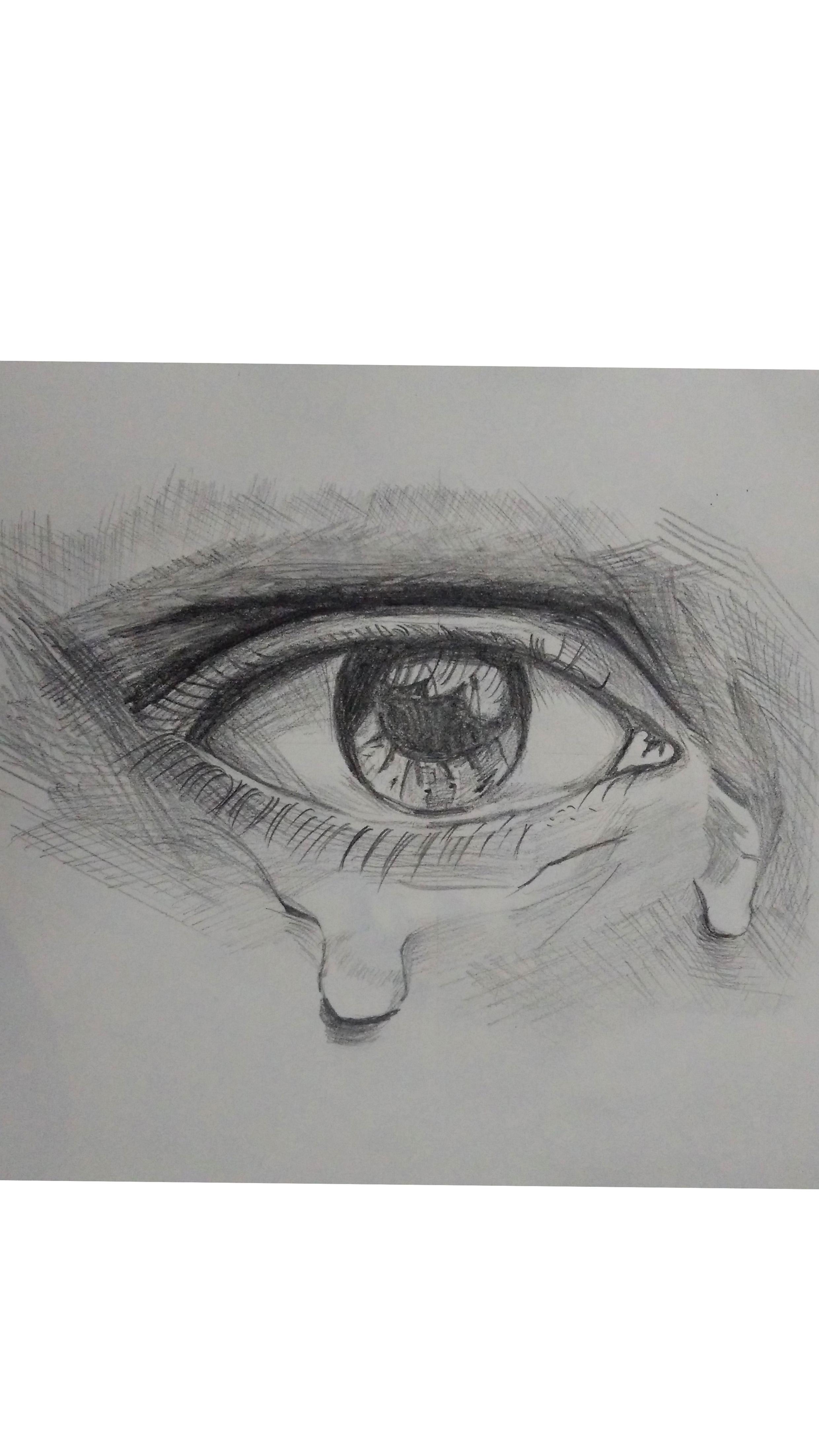 手绘作品-眼睛