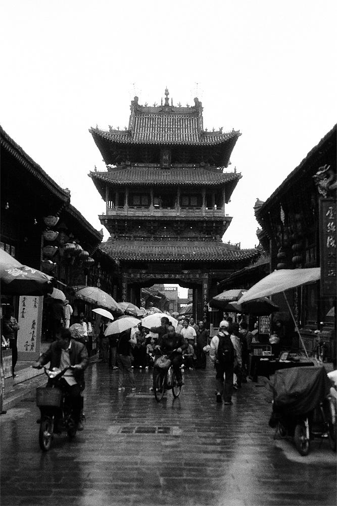 黑白胶片记录 —— 『平遥古城』