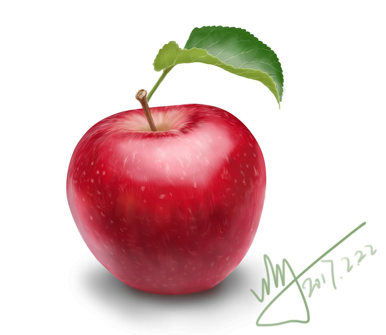 好看的手绘水果图片
