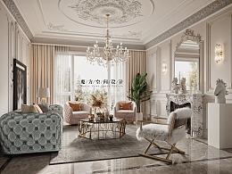 【魔方】法式轻奢•北京别墅项目