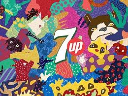 七喜狗年包装设计