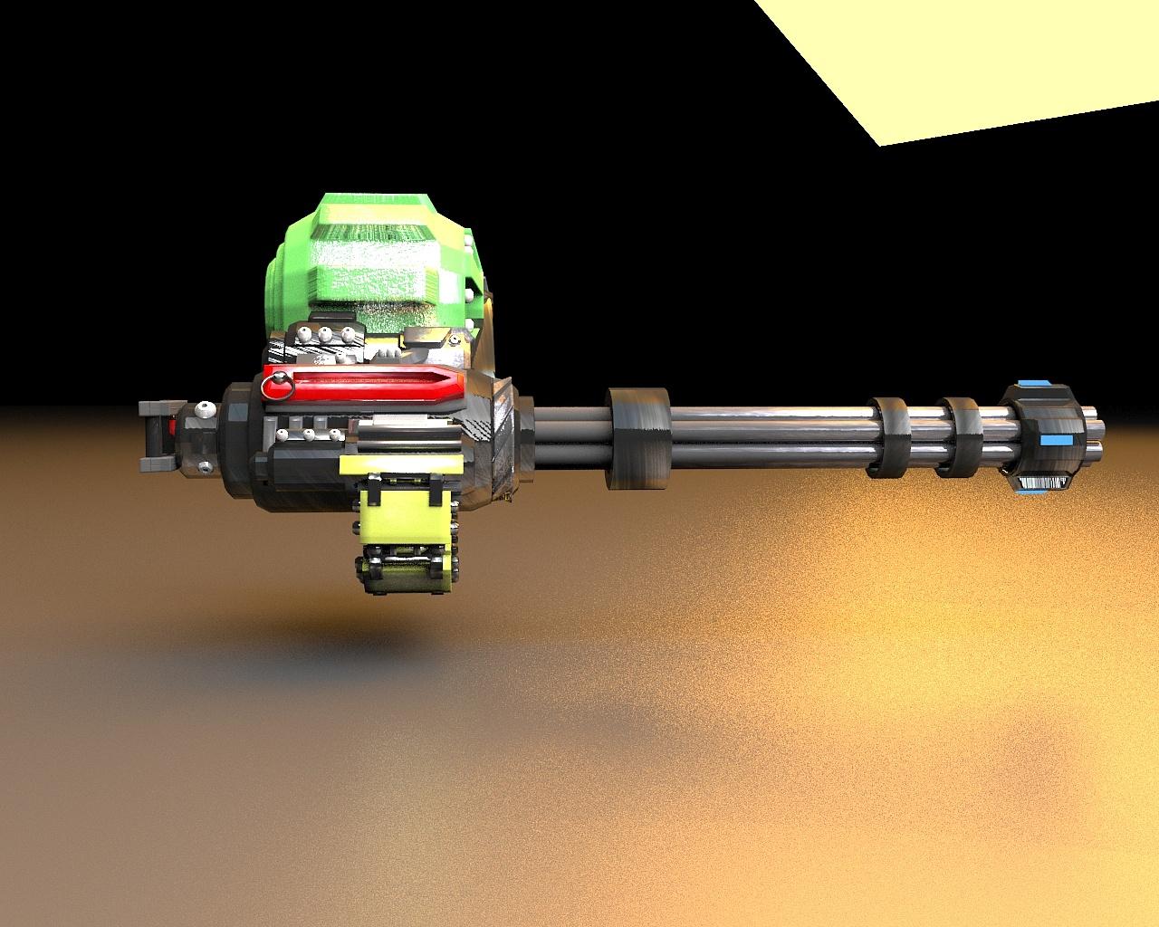 加特林机炮