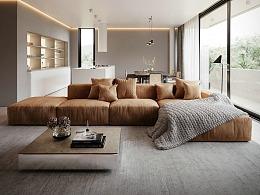 极简白+高级灰,营造质感优雅的生活居所