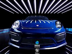 汽车虚拟现实 vr 虚拟现实展厅 虚幻4制作