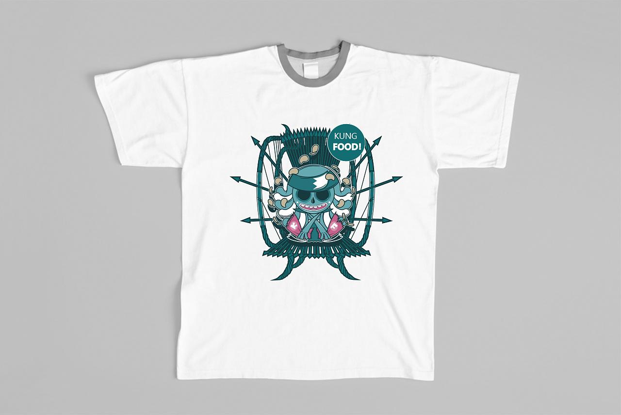 潮牌 /strong>t恤图案设计图片