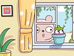 冷兔baby —— 茄子的乖巧日常