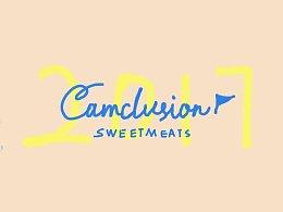 Camclusion 甜品GIF系列插画