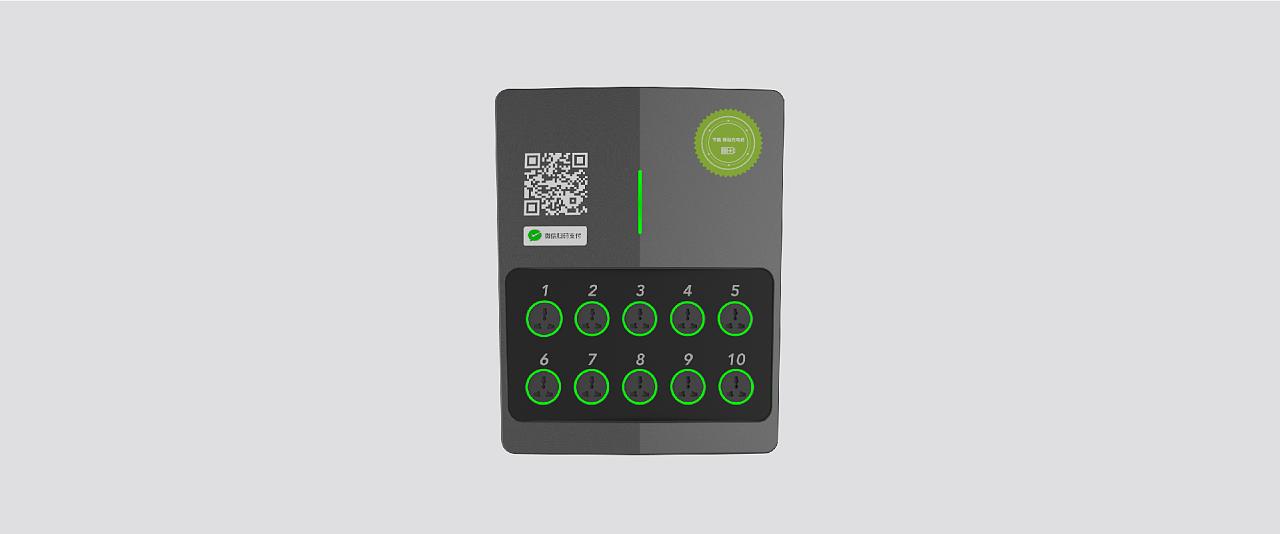 24design 智能共享充电桩 产品外观设计 二十四设计图片