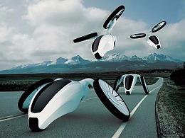 未来交通方式创想
