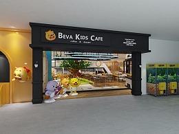 贝瓦亲子咖啡厅设计-2016年