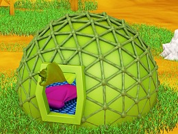 C4D野外帐篷搭建