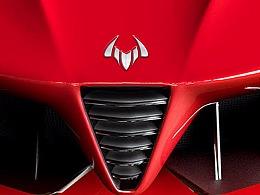 博郡新能源汽车品牌logo设计