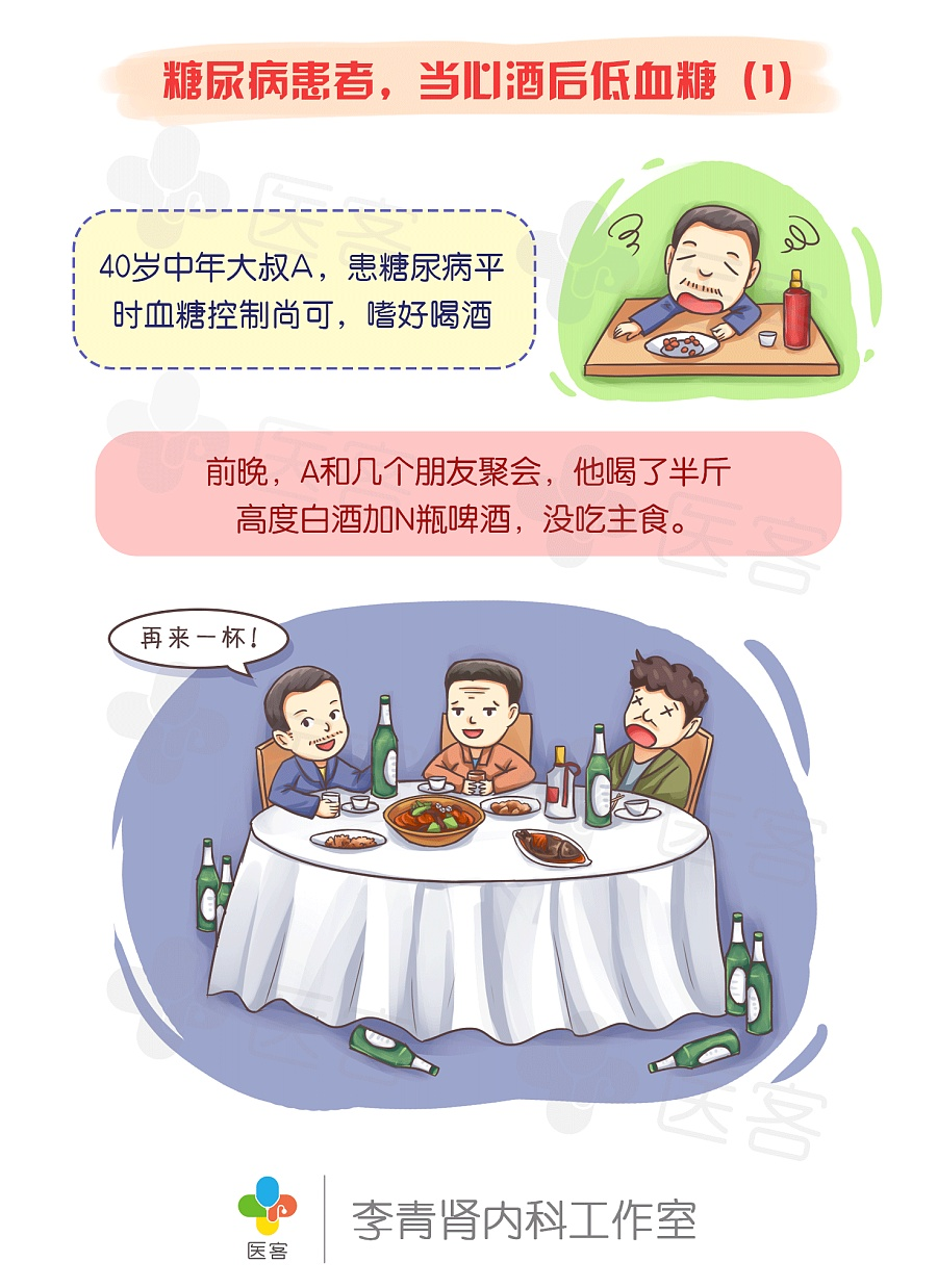 【医客工作室】患者大王漫画:糖尿病医疗,当心阿滋剧场版漫画科普图片