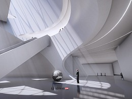 深圳金融文化中心方案动画   献给特区40周年的一束光