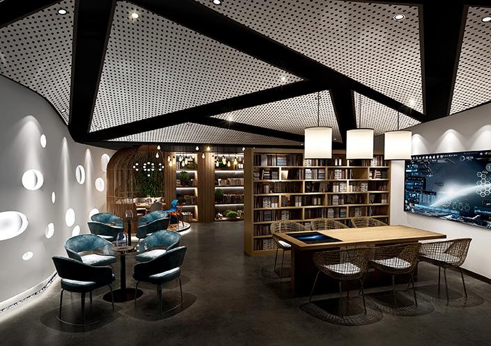 邛崃咖啡厅设计|邛崃咖啡厅装修-《壹都锦咖啡msp430电路设计图片