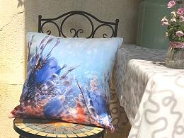 3D实验双层印花抱枕——进深风景