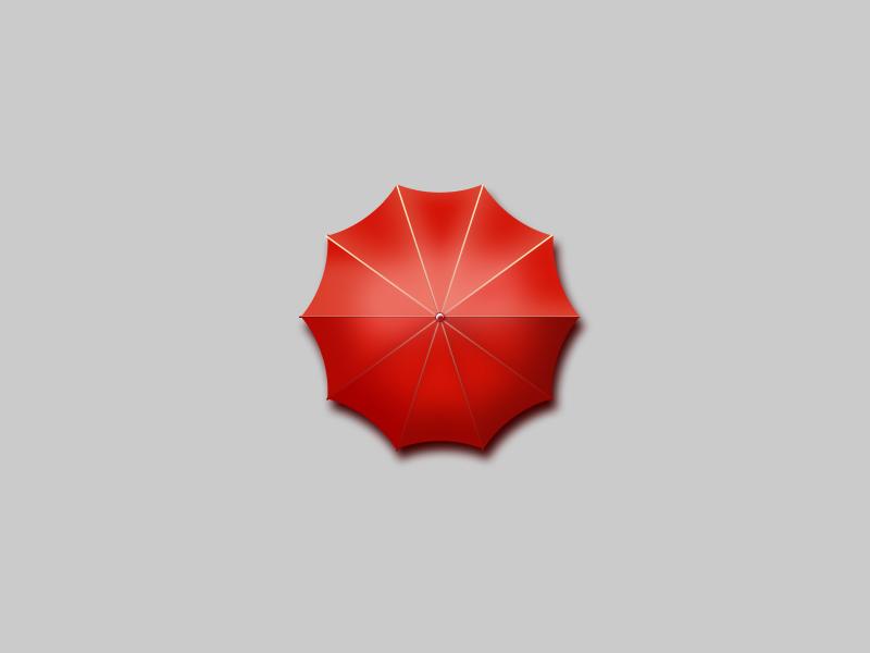 ui练习-小红伞|图标|gui|wliping - 原创设计作品