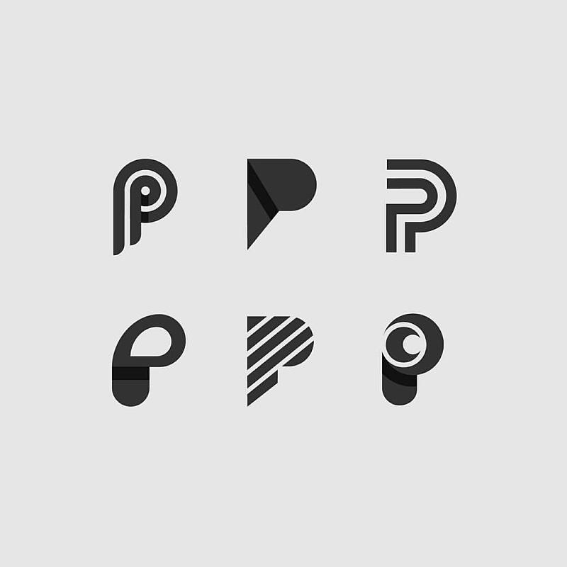 英文品牌标志_现代英文字母LOGO标志的类型-单个字母|平面-网页-其他|观点|独孤 ...