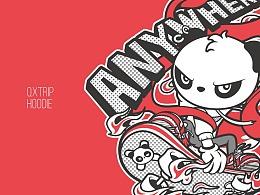 熊猫 X 哪吒&太空人