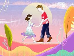 《LOVE》 动态插画