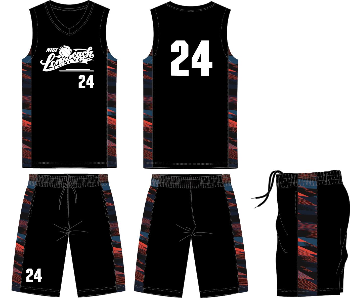 创意篮球服图案设计 图片合集图片