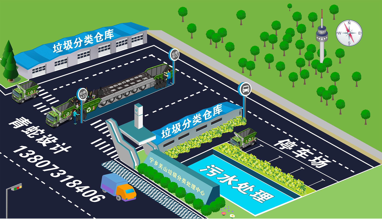 用cdr画的厂房平面图