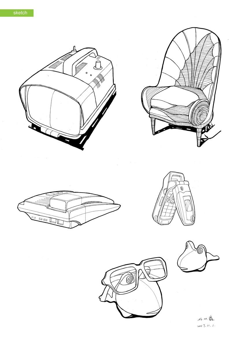 产品手绘|其他产品|工业/产品|sxlin