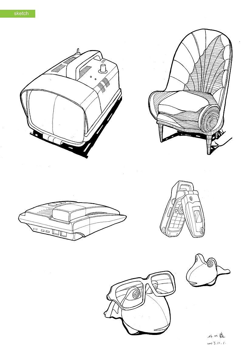 产品手绘|工业/产品|其他工业/产品|sxlin - 原创作品