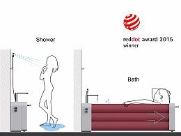 【红点奖】充气浴缸