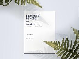 网页设计版式精选