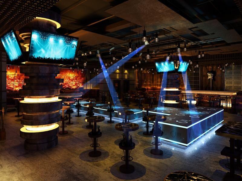 重庆空间设计-重庆北鼎装饰|室内设计|酒吧/建筑商业地产标识设计制作图片