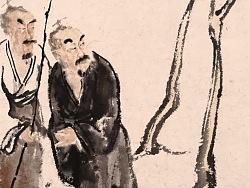 一山中国画人物作品(2)