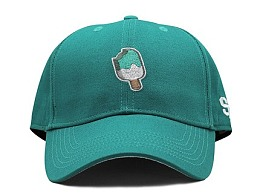 STRETAG 思锐泰格草绿色冰棍弯檐帽 棒球帽