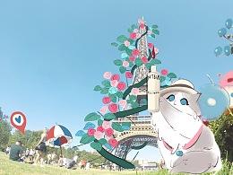 天猫国际《给你全世界的春天》动画视频