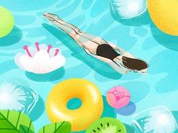 #y园糖插画打卡21天#第一周打卡总结