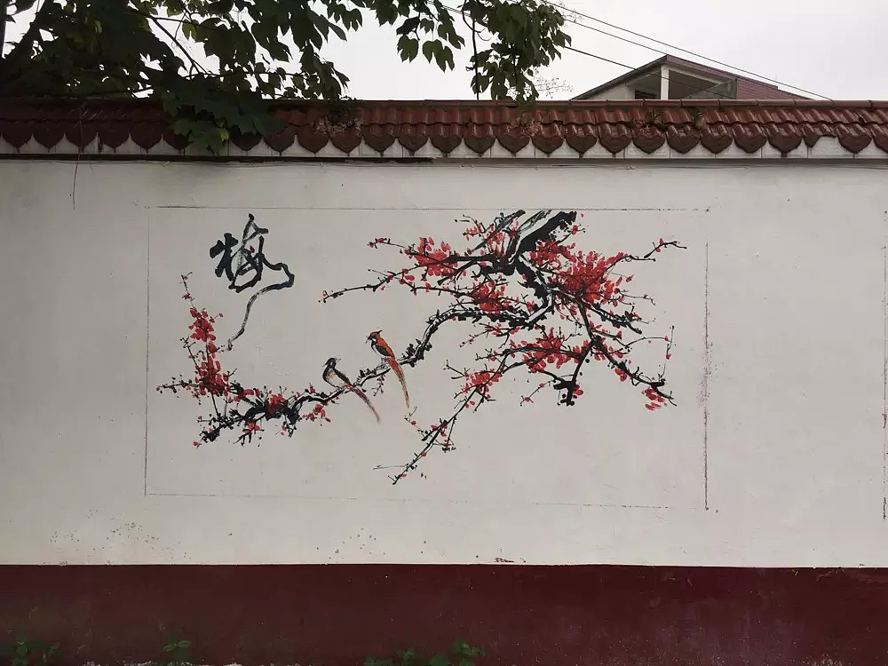 壁画手绘图片