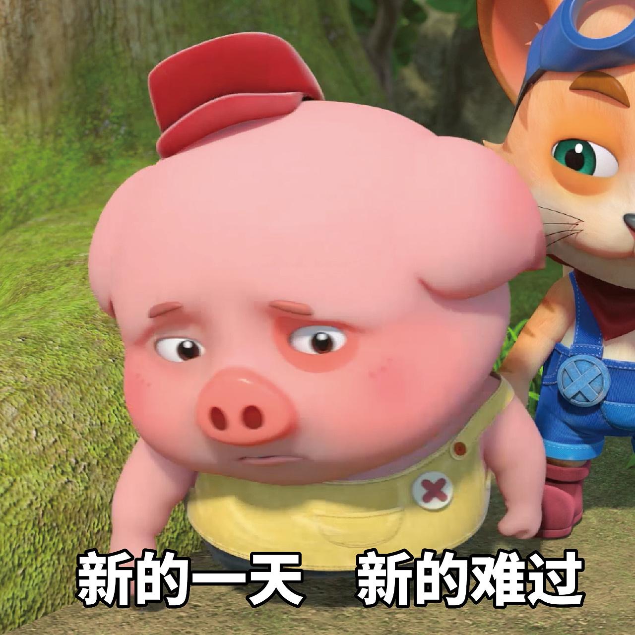 豆豆猪表情:你小表情已奔跑你兄弟,请点赞获鹿打晗包被拒收吧宝贝信息变腿图片