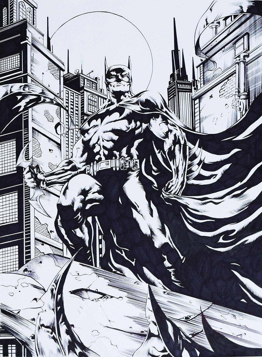 临摹英雄,科学毛笔/马克笔手绘|二维动画|动漫|阿恒