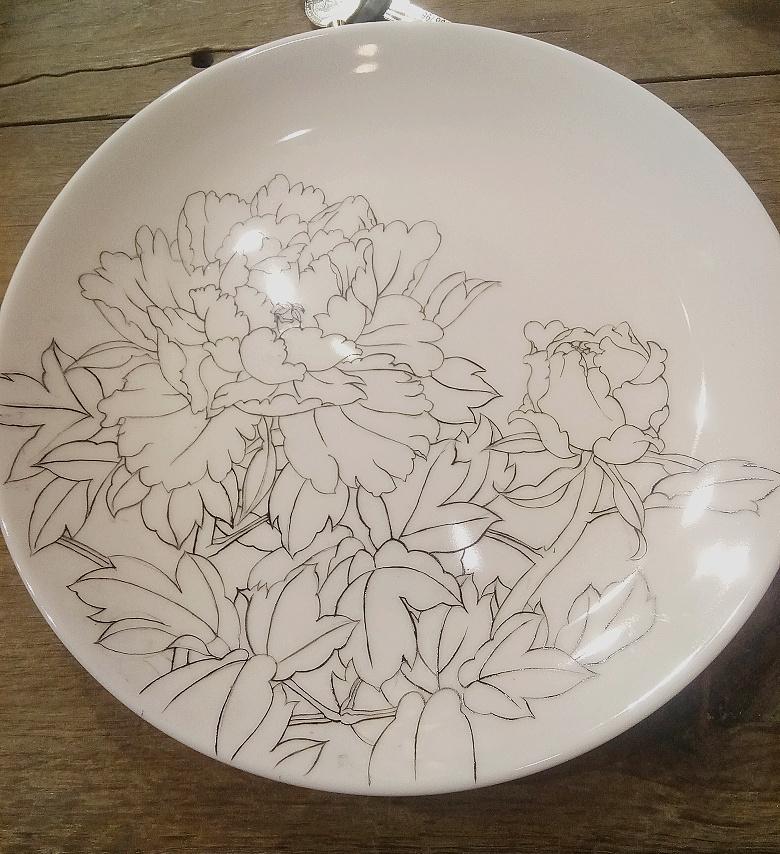 查看《牡丹凉――景德镇釉上新彩手绘盘》原图,原图尺寸:780x854