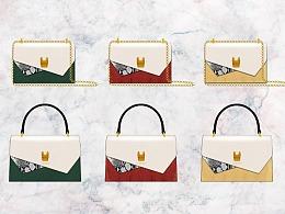 女包手袋原创设计作品稿——萌犬系列