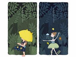 林中女孩系列