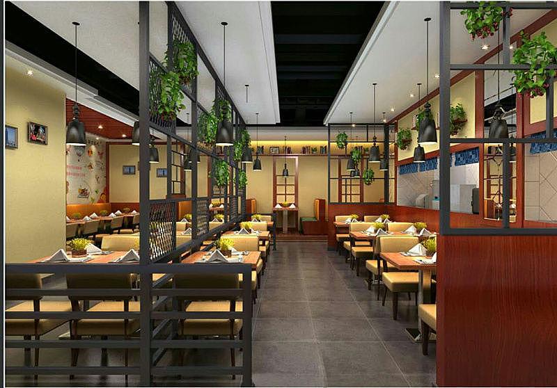 小型西餐厅装修设计图展示