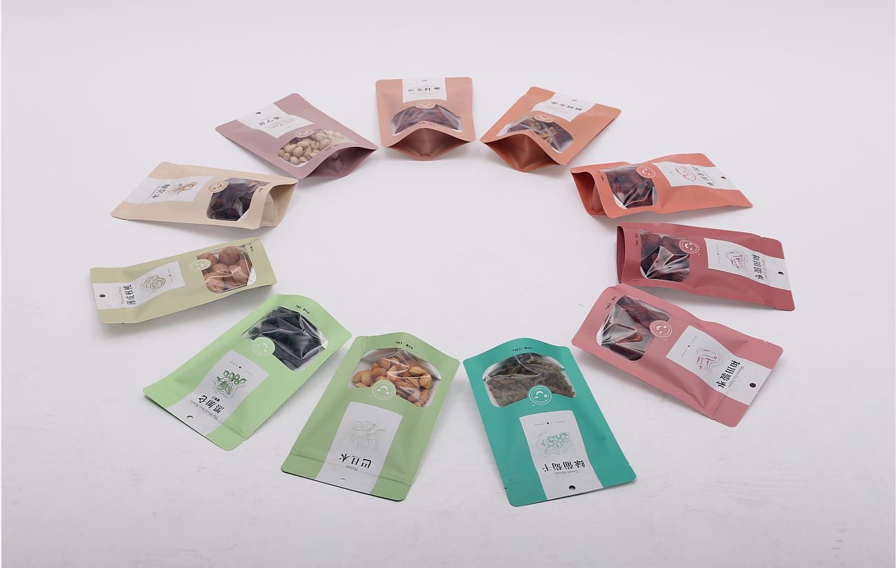 恣意坚果 食品包装设计图片