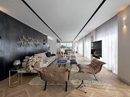 气质优雅的生活空间,艺术气息萦绕的家!