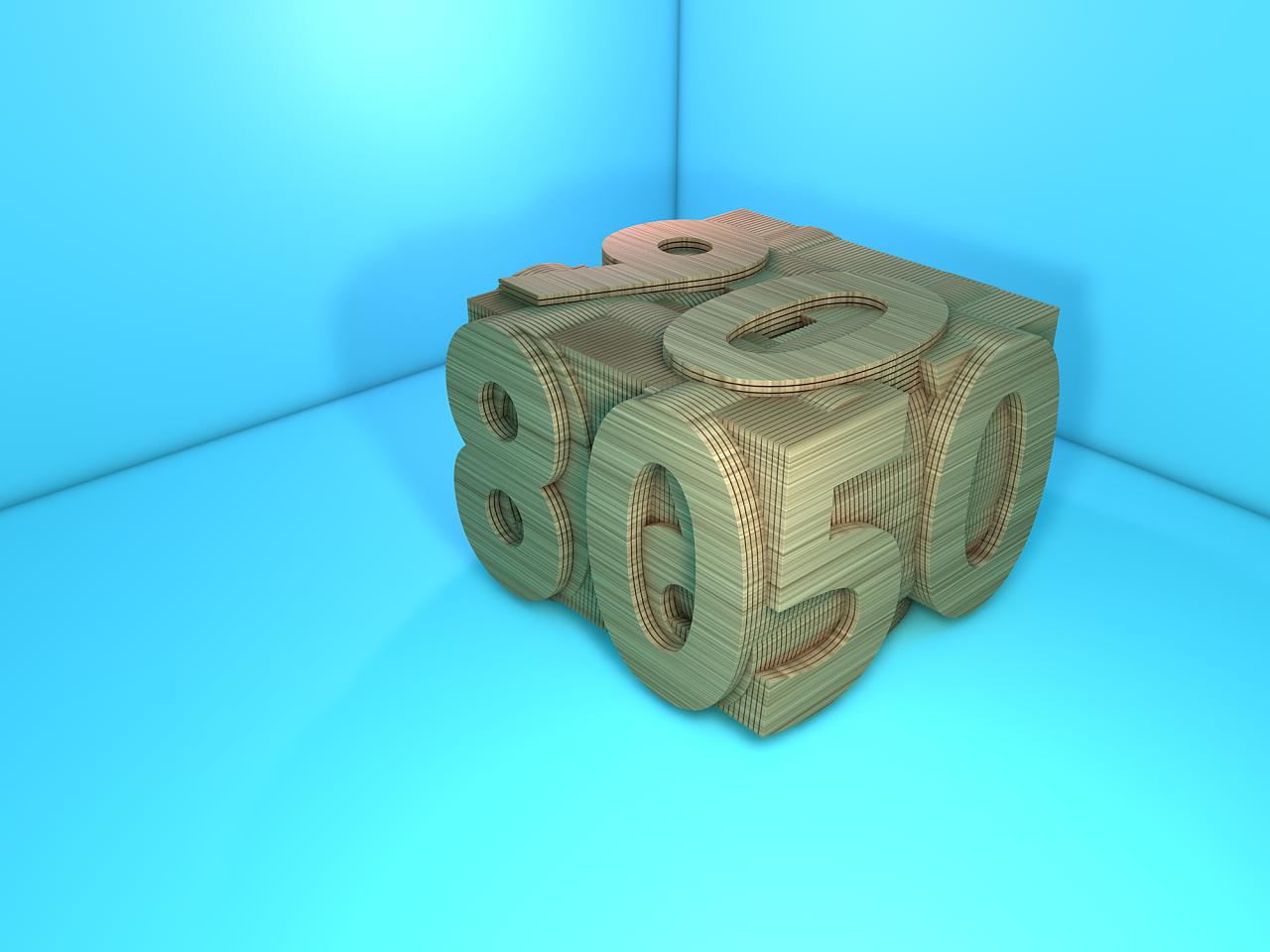 几块木头是怎么做出三阶魔方的?这招厉害了 - 腾讯体育视频
